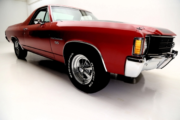 For Sale Used 1972 Chevrolet El Camino SS Numbers Match 350 A/C Documented | American Dream Machines Des Moines IA 50309