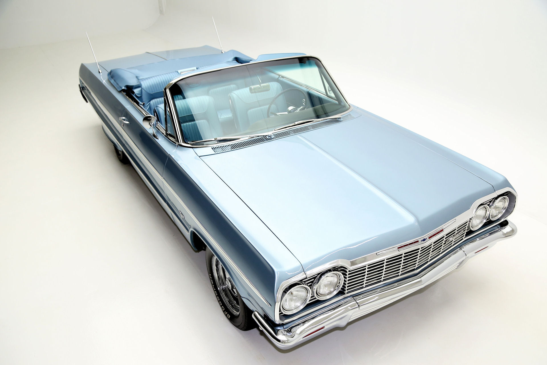 1964 Chevrolet Impala Convertible Frame off restored - American ...