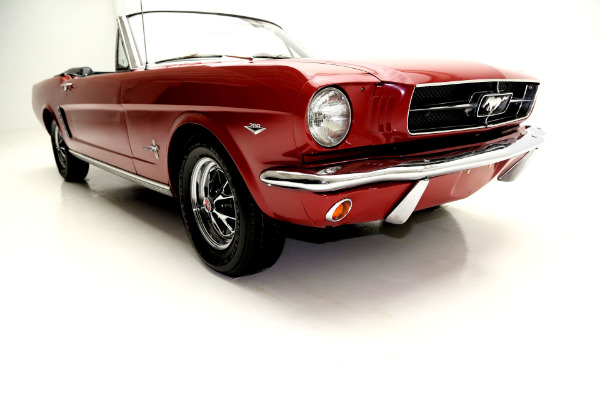 For Sale Used 1965 Ford Mustang Convertible Red (A-CODE) | American Dream Machines Des Moines IA 50309