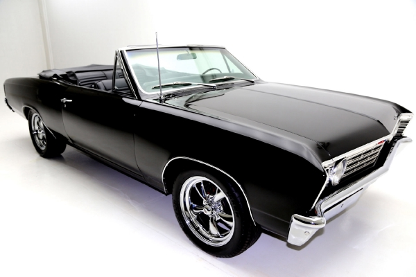 1967 Chevrolet Chevelle Convertible Tremec 5 Speed