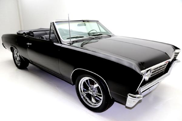 1967 Chevrolet Chevelle Convertible Tremec 5 Speed
