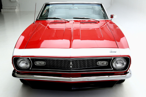 For Sale Used 1968 Chevrolet Camaro Convertible Numbers Matching, Red, | American Dream Machines Des Moines IA 50309