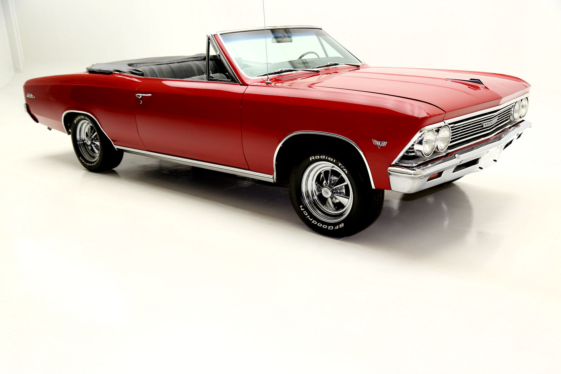 1966 chevrolet chevelle convertible red 4 speed. Black Bedroom Furniture Sets. Home Design Ideas
