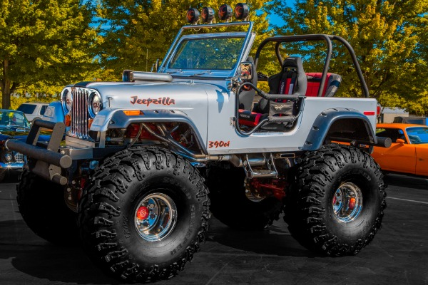 1986 AMC JEEP CJ7 390 on Rockwells