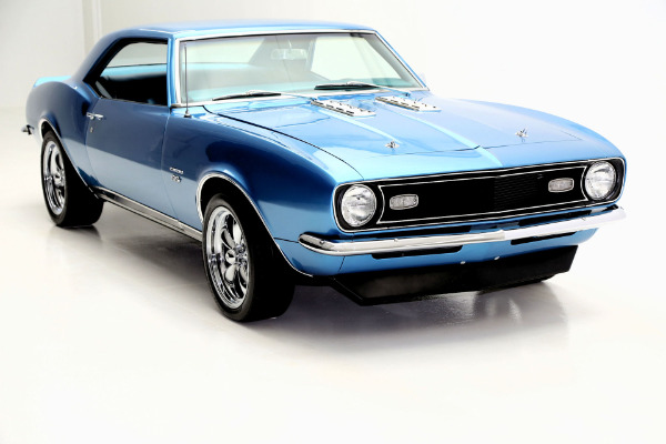 For Sale Used 1968 Chevrolet Camaro UU-Lemans blue,4 spd | American Dream Machines Des Moines IA 50309