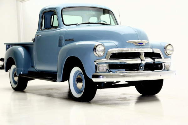 For Sale Used 1955 Chevrolet 3100 Pickup blue, 5 window | American Dream Machines Des Moines IA 50309