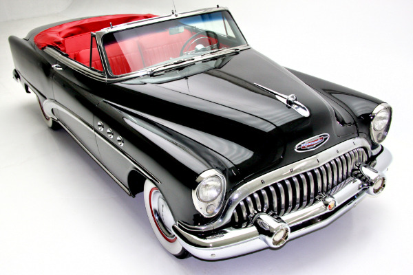 1953 Buick Special Convertible Rare Black & Red