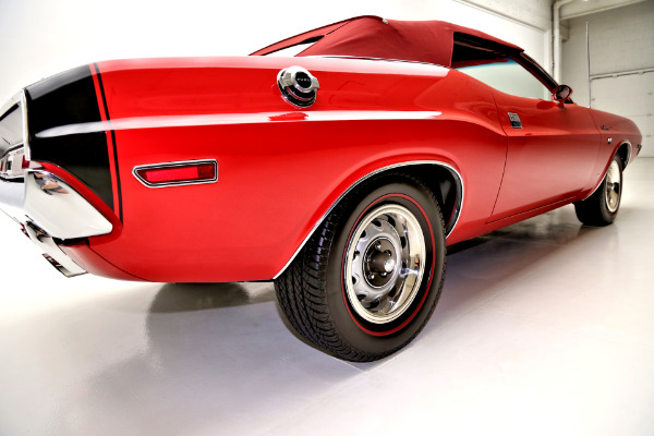1970 Dodge Challenger RT options 440 6 Pac