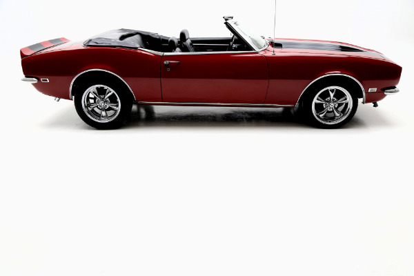 For Sale Used 1968 Chevrolet Camaro Convertible Torch Red | American Dream Machines Des Moines IA 50309