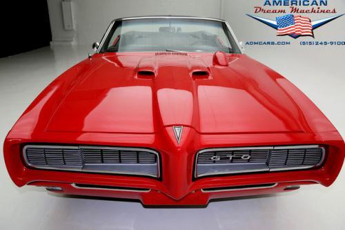 1968 Pontiac GTO 400 cid V8 Convertible Convertible