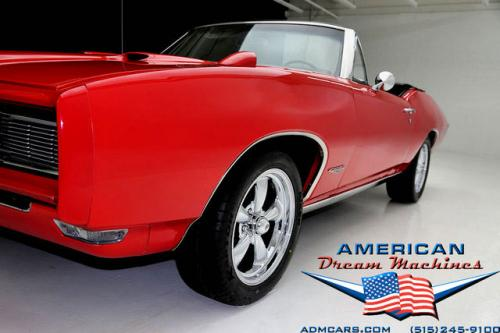 For Sale Used 1968 Pontiac GTO 400 cid V8 Convertible Convertible | American Dream Machines Des Moines IA 50309