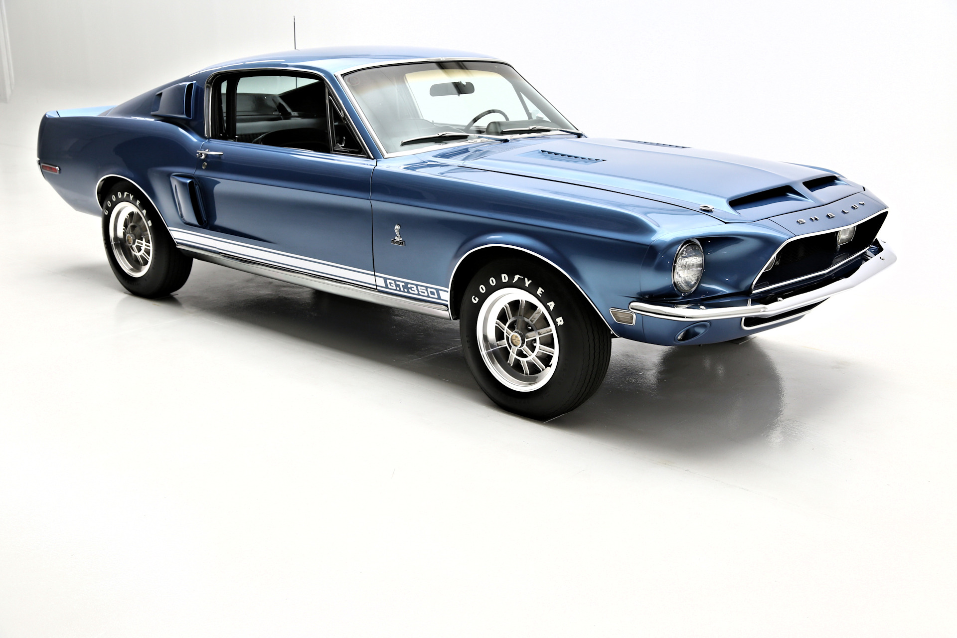 1968 shelby cobra gt 350 fastback