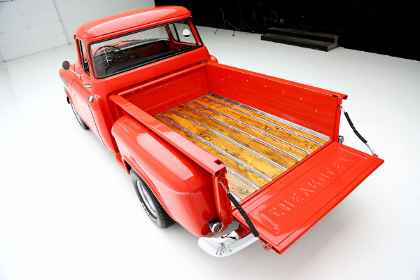 For Sale Used 1955 Chevrolet Pickup 3100, big back window, V8, 4 speed | American Dream Machines Des Moines IA 50309