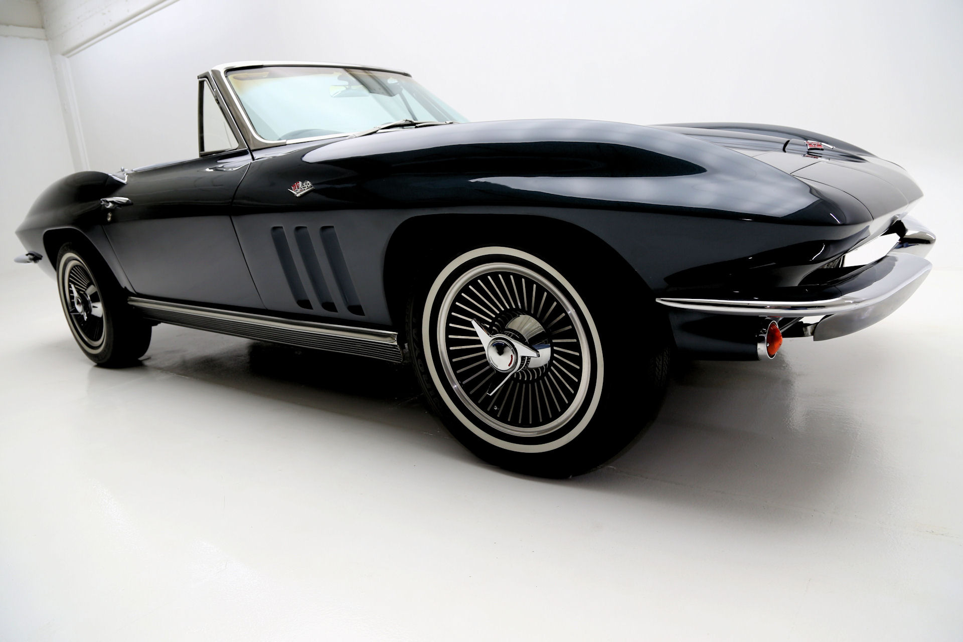 For Sale Used 1966 Chevrolet Corvette Laguna Blue, 327/350 Roadster | American Dream Machines Des Moines IA 50309