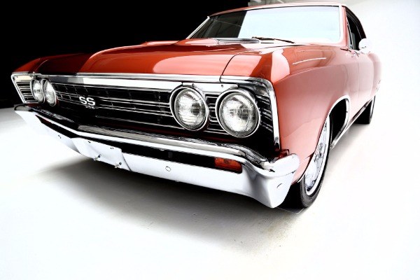 For Sale Used 1967 Chevrolet Chevelle ProTour 4-Spd SS options | American Dream Machines Des Moines IA 50309