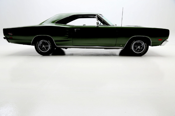 For Sale Used 1969 Dodge Coronet R/T Green 440/375 Fender Tag Build Sheet | American Dream Machines Des Moines IA 50309