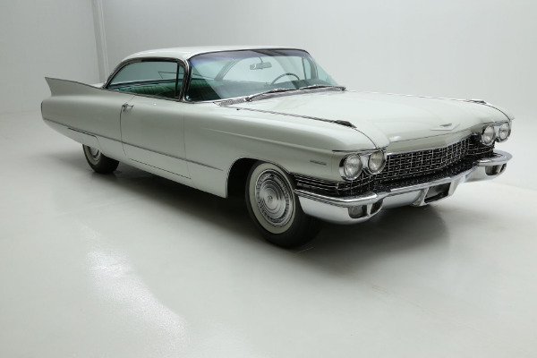 For Sale Used 1960 Cadillac Coupe White, 1 owner for 53 years! | American Dream Machines Des Moines IA 50309