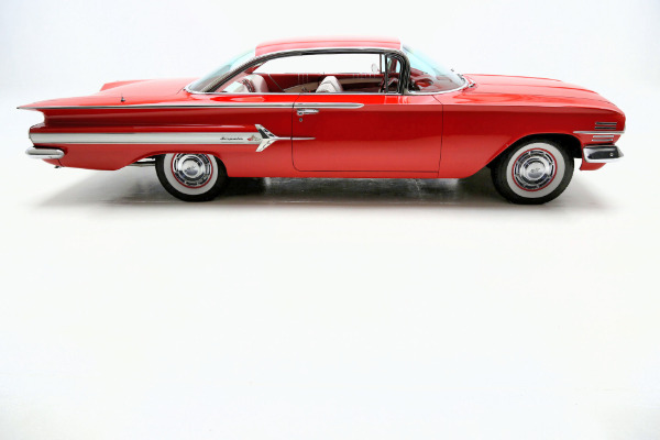 1960 Chevrolet Impala Red 348 tri-power 4 speed