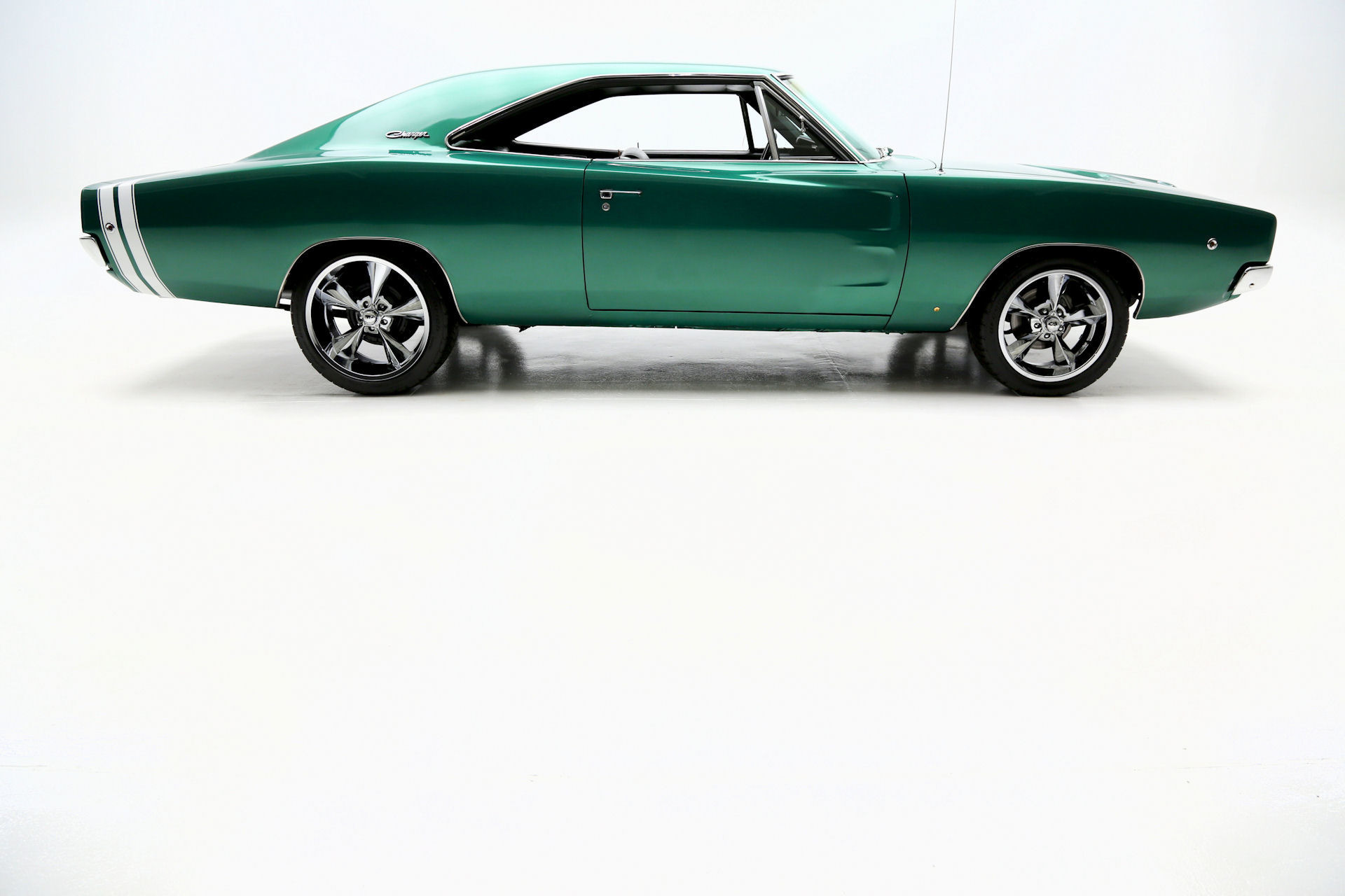 1968 Dodge Charger 440 Automatic Dark Metallic Green