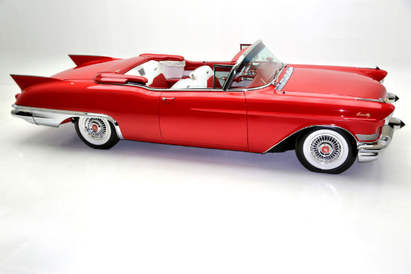 For Sale Used 1957 Cadillac Eldorado Biarritz Frame Off Resto | American Dream Machines Des Moines IA 50309
