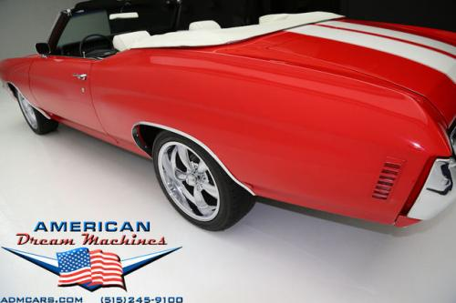For Sale Used 1972 Chevrolet Chevelle convertible 4 SPD convertible | American Dream Machines Des Moines IA 50309