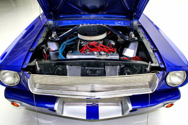 For Sale Used 1965 Ford Mustang Electric Blue GT350 options | American Dream Machines Des Moines IA 50309
