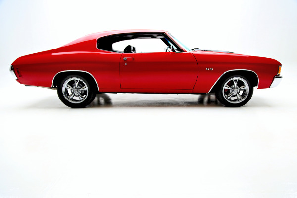 1972 Chevrolet Chevelle Red, Real SS, 402 Big Block