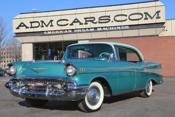 For Sale Used 1957 Chevrolet Belair Power Pack Automatic Hardtop | American Dream Machines Des Moines IA 50309