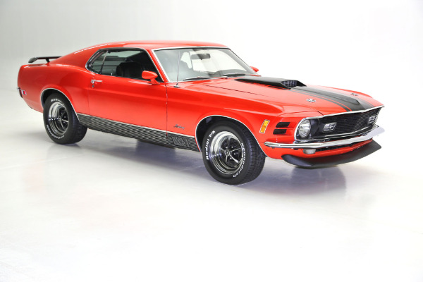 For Sale Used 1970 Ford Mustang Mach 1,351 Cleveland 4-Spd | American Dream Machines Des Moines IA 50309