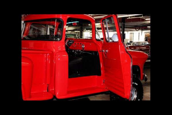 For Sale Used 1957 Chevrolet 3100 4x4 pickup 4spd big back window | American Dream Machines Des Moines IA 50309