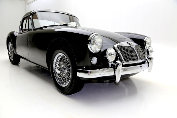 For Sale Used 1957 MG MGA Rare Fixed Head Coupe | American Dream Machines Des Moines IA 50309