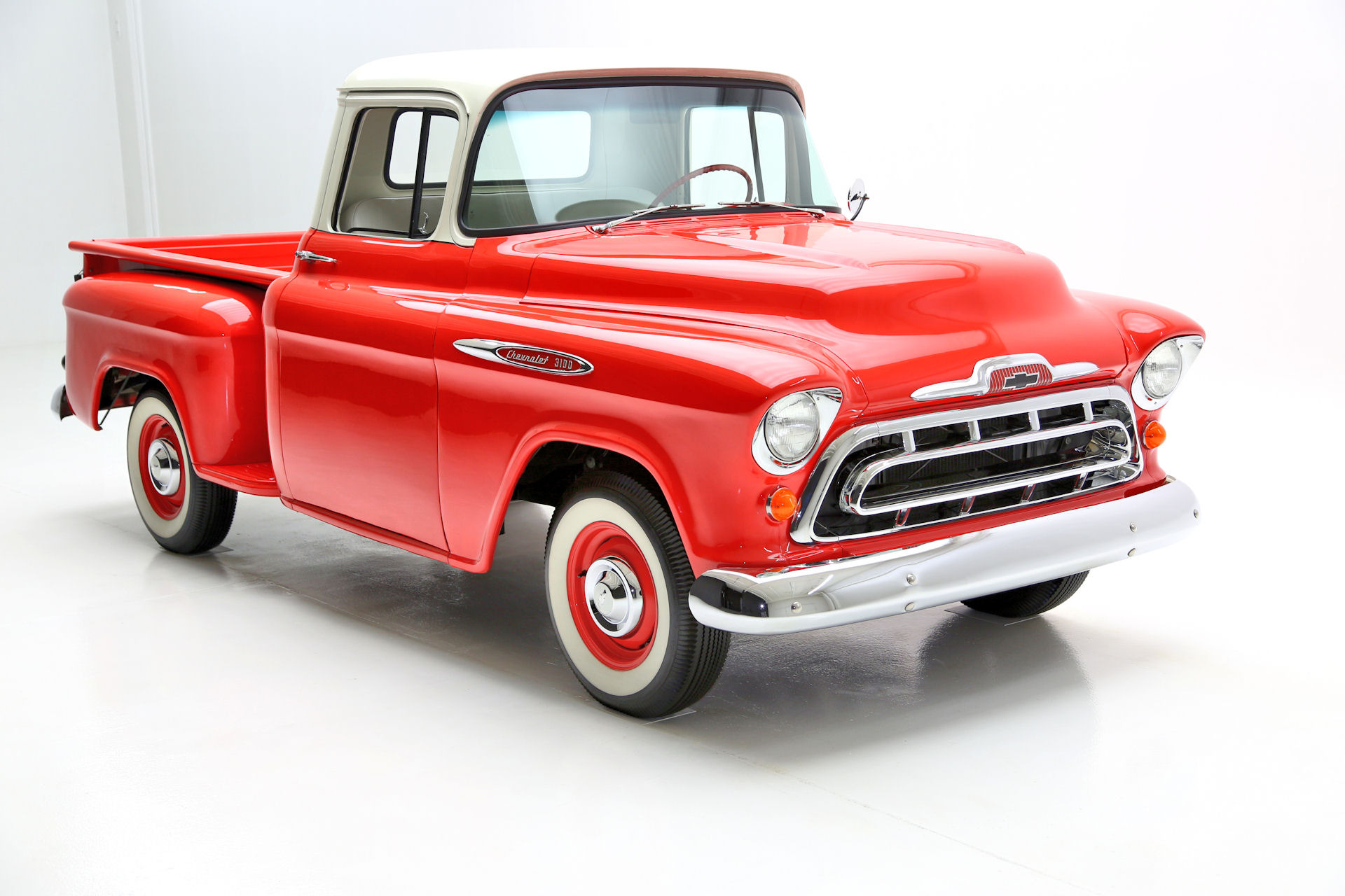 For Sale Used 1957 Chevrolet 3100 Pickup Nut & Bolt Frame Off | American Dream Machines Des Moines IA 50309