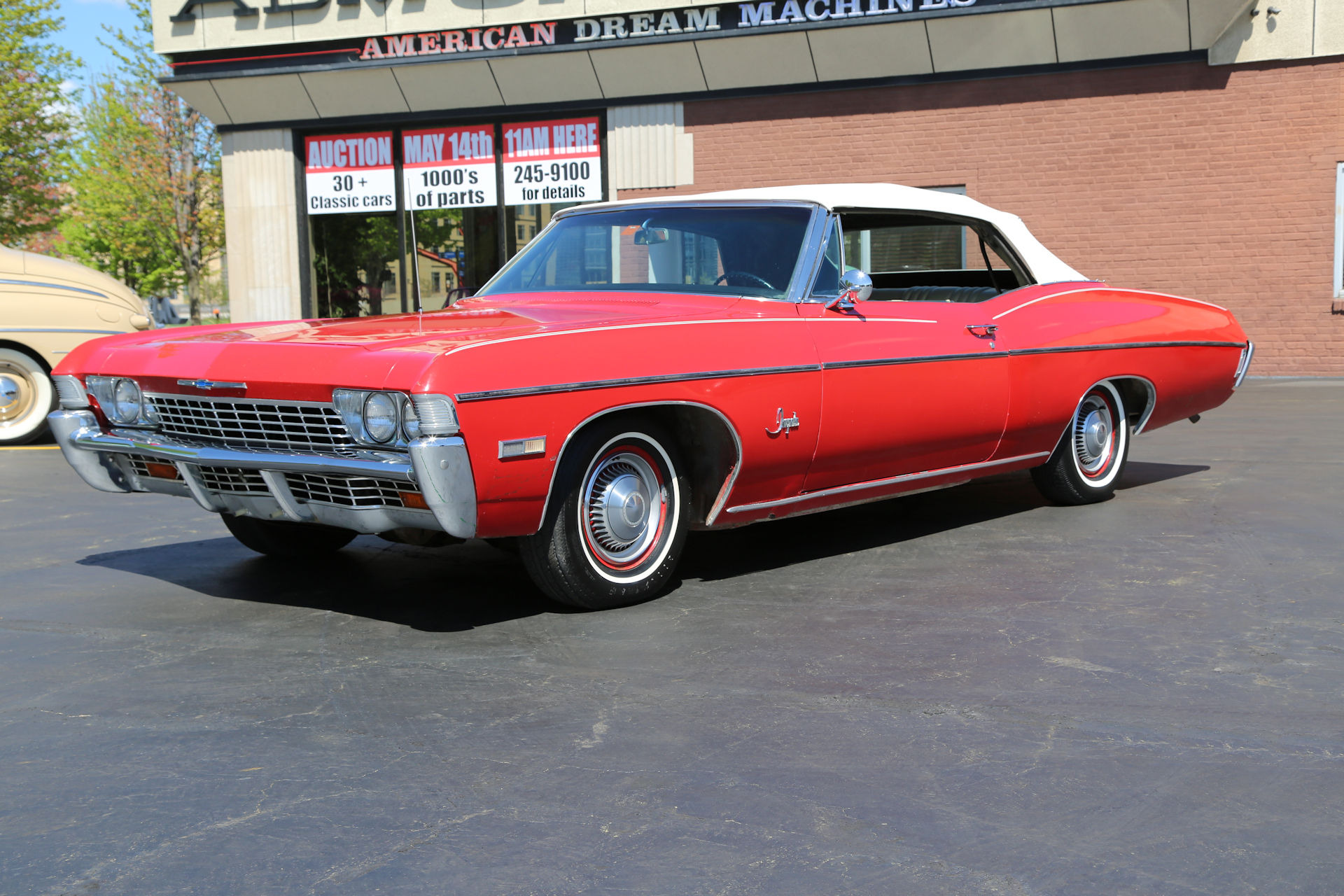 1968 Chevrolet Impala Convertible Red 396/325hp #\'s Match.12 Bolt ...