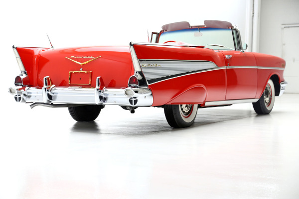 For Sale Used 1957 Chevrolet Bel Air Loaded w/power options | American Dream Machines Des Moines IA 50309