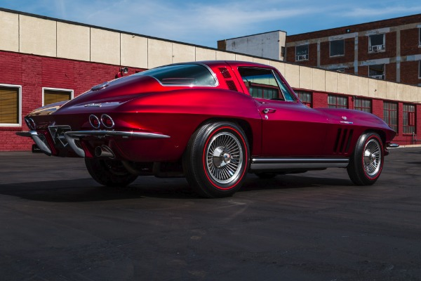 For Sale Used 1965 Chevrolet Corvette Candy Brandywine | American Dream Machines Des Moines IA 50309