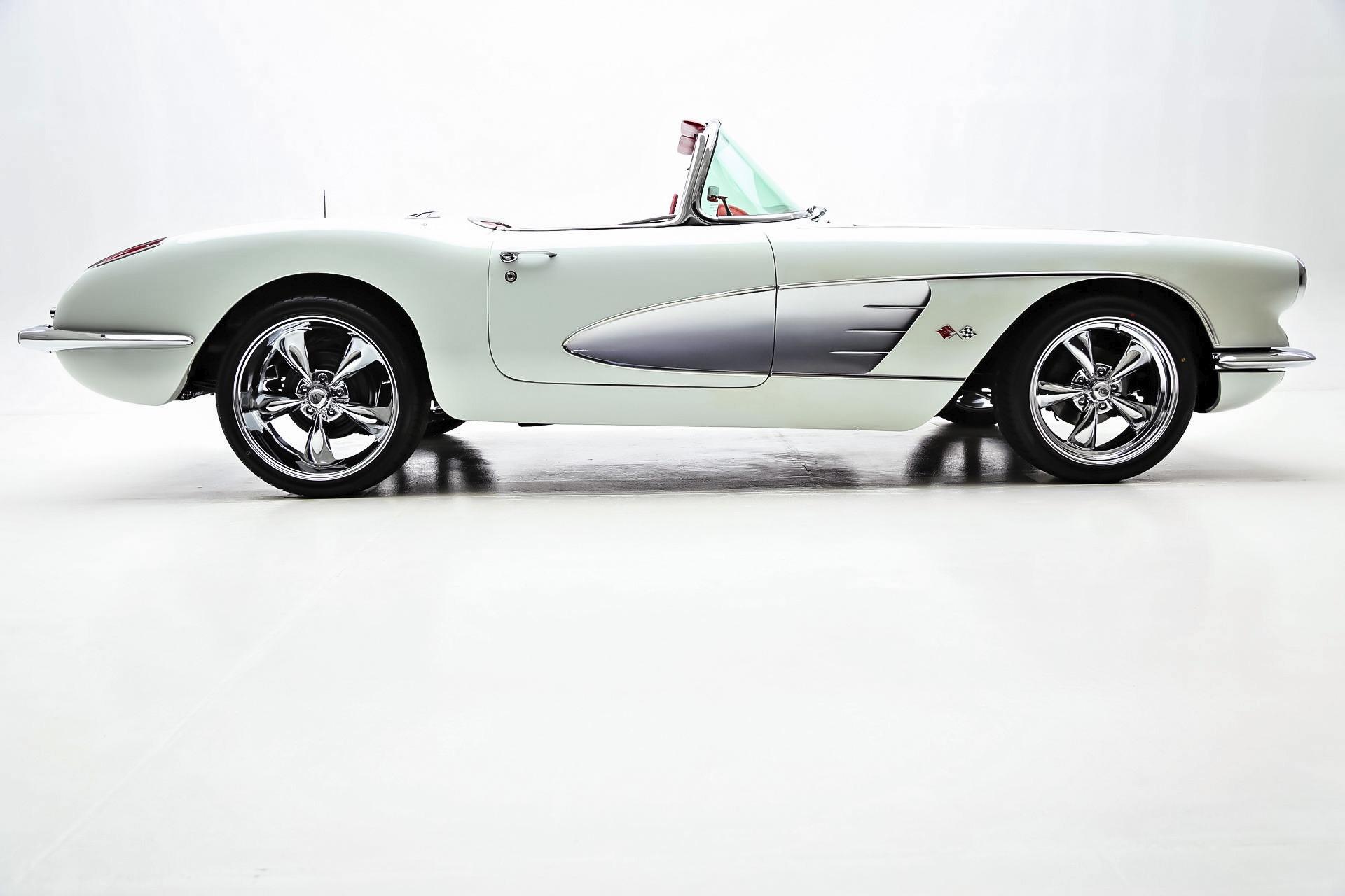Black And White Corvette Classic Cars