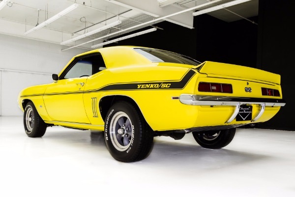 For Sale Used 1969 Chevrolet Camaro Real SS 427/435HP 4-Spd | American Dream Machines Des Moines IA 50309