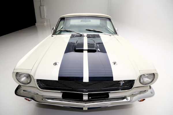 For Sale Used 1966 Ford Mustang Convertible Shelby options added | American Dream Machines Des Moines IA 50309