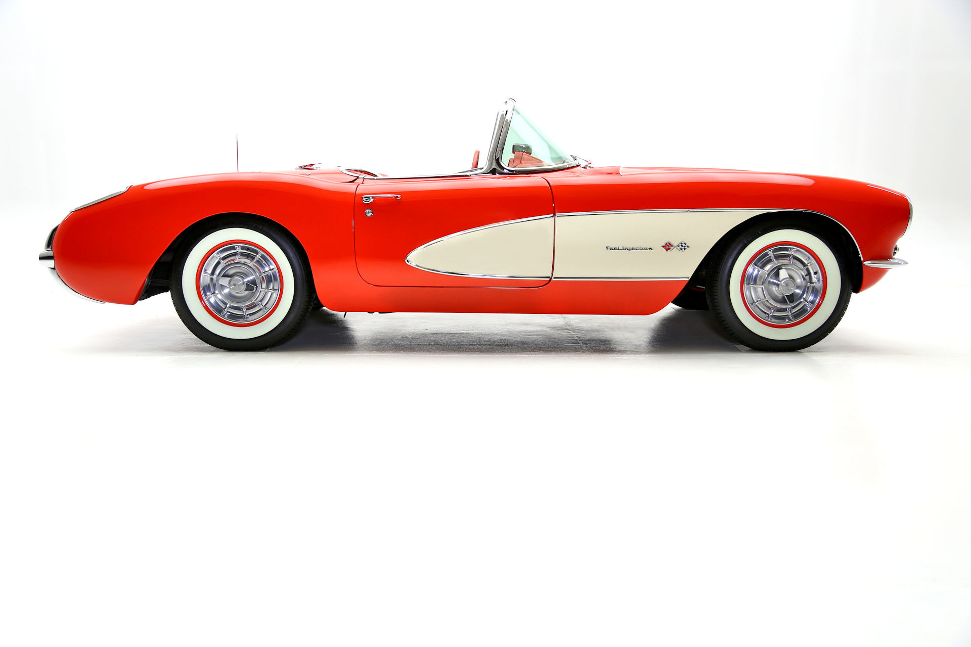 For Sale Used 1957 Chevrolet Corvette Fuelie #s match 283/283 | American Dream Machines Des Moines IA 50309