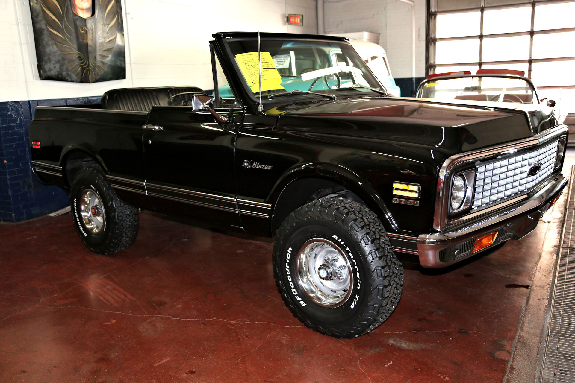 For Sale Used 1972 Chevrolet Blazer K-5 CST 4x4 AC Fresh | American Dream Machines Des Moines IA 50309
