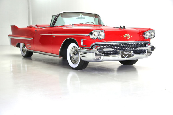 For Sale Used 1958 Cadillac Series 62 Convertible Frame Off AC (WINTER CLEARANCE SALE) | American Dream Machines Des Moines IA 50309