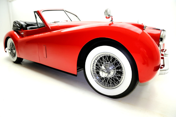 For Sale Used 1954 Jaguar XK120 Rare Only 50k Miles | American Dream Machines Des Moines IA 50309