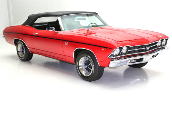 For Sale Used 1969 Chevrolet Chevelle SS Convertible 396/375 | American Dream Machines Des Moines IA 50309
