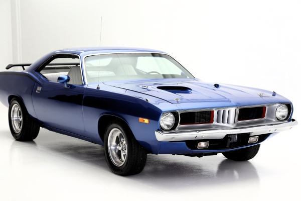 For Sale Used 1973 Plymouth Barracuda V8 Cuda | American Dream Machines Des Moines IA 50309