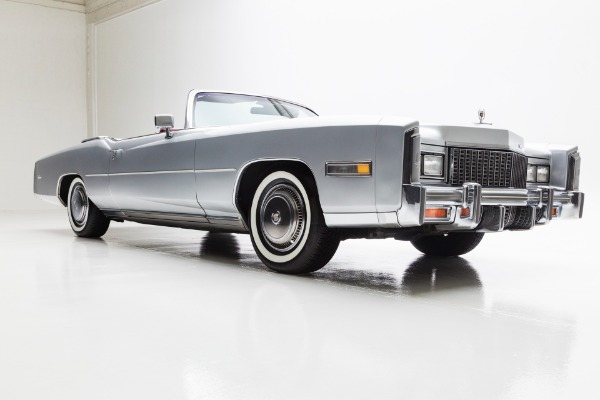 For Sale Used 1976 Cadillac Eldorado New Leather New paint | American Dream Machines Des Moines IA 50309