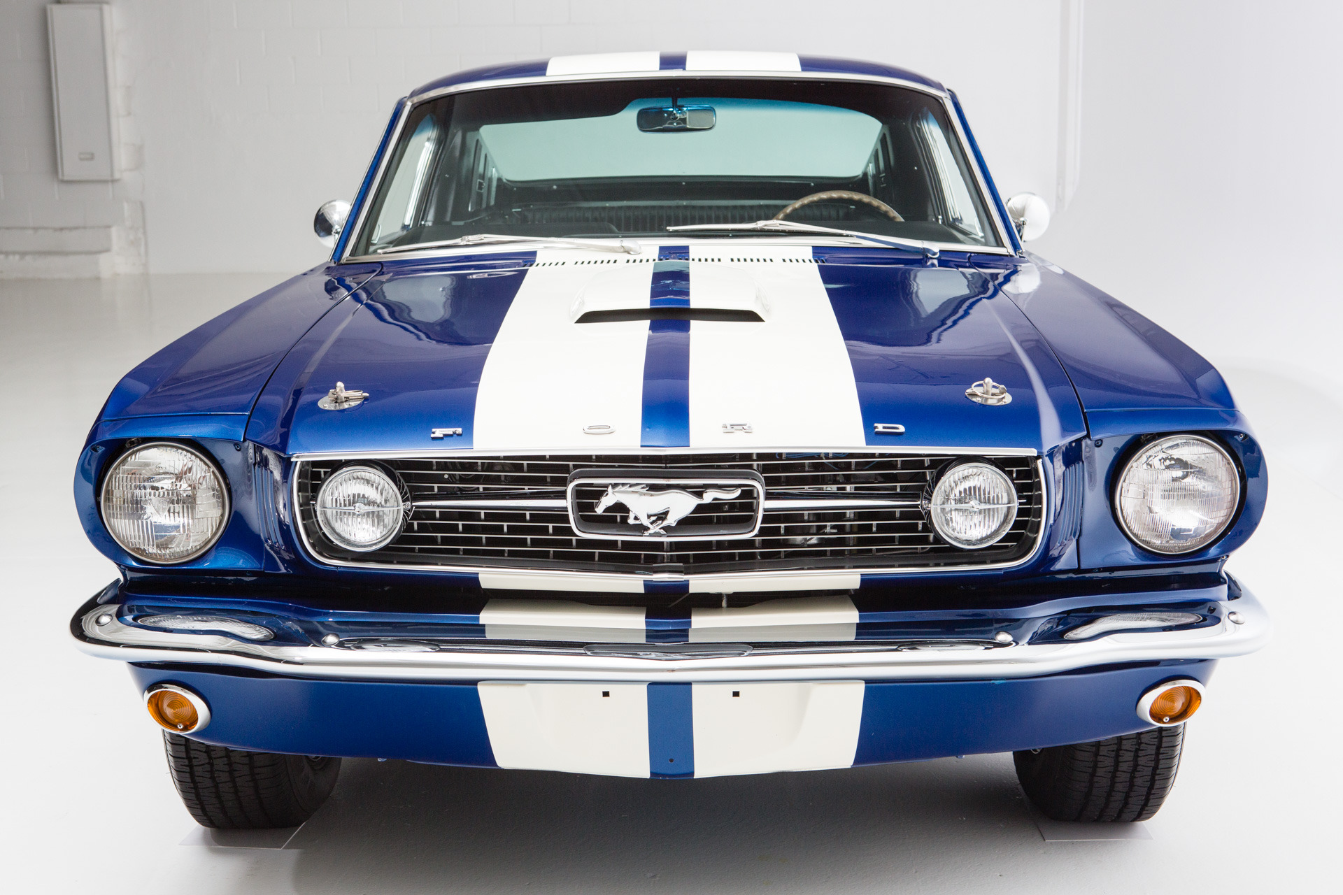 1966 Ford Mustang Fastback Cobalt Blue 2 2 American Dream