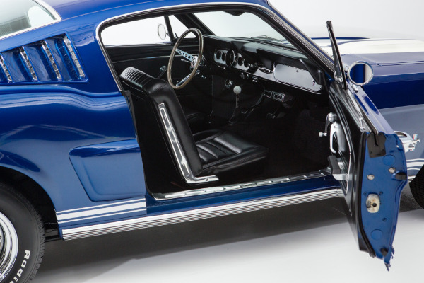 For Sale Used 1966 Ford Mustang Fastback Cobalt Blue 2+2 | American Dream Machines Des Moines IA 50309