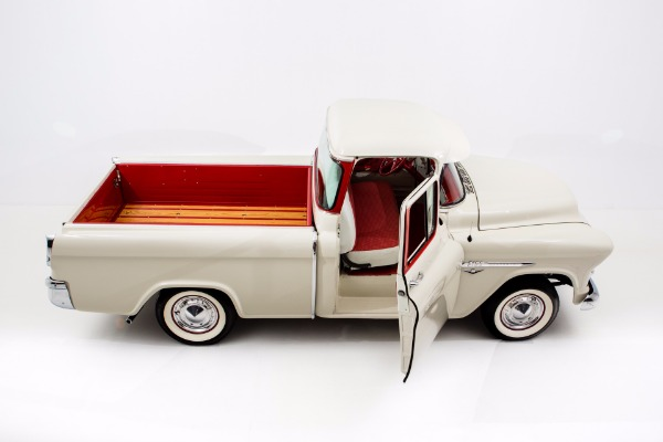 For Sale Used 1955 Chevrolet Pickup 3100 Cameo V8 Frame Off | American Dream Machines Des Moines IA 50309