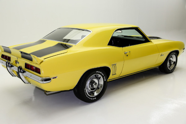 For Sale Used 1969 Chevrolet Camaro Z28, X33  Daytona Yellow | American Dream Machines Des Moines IA 50309