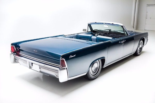 1965 Lincoln Continental Metallic Blue Loaded